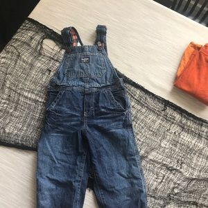 Oshkosh Flannel Lined Overalls